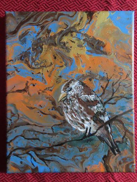 Rose-breasted Grosbeak Female | LML Studio Art