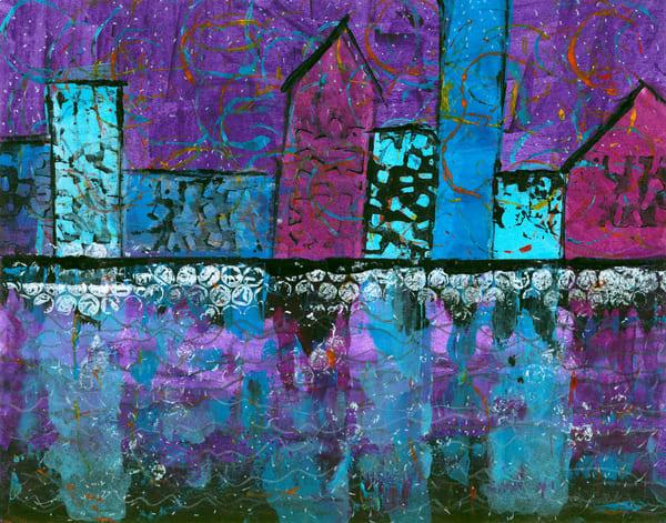 Celebration City, Original Artwork Art | Lynne Medsker Art & Photography, LLC