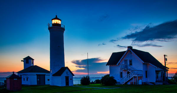 Tibbetts Point Lighthouse Sunset - New York fine-art photography prints
