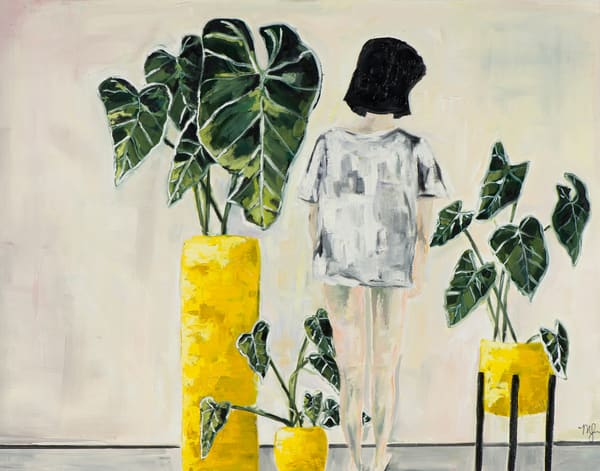 Alocasia Art | Meredith Steele Art
