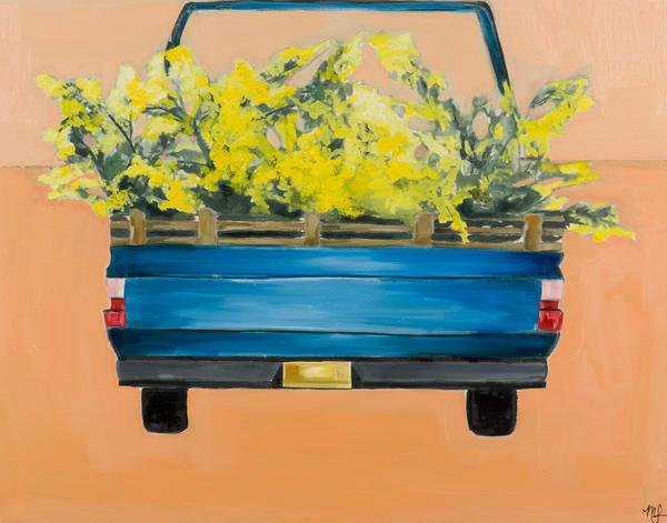 Acacia Truck Art | Meredith Steele Art