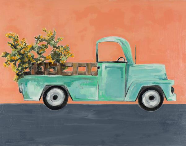 Kumquat Truck Art | Meredith Steele Art