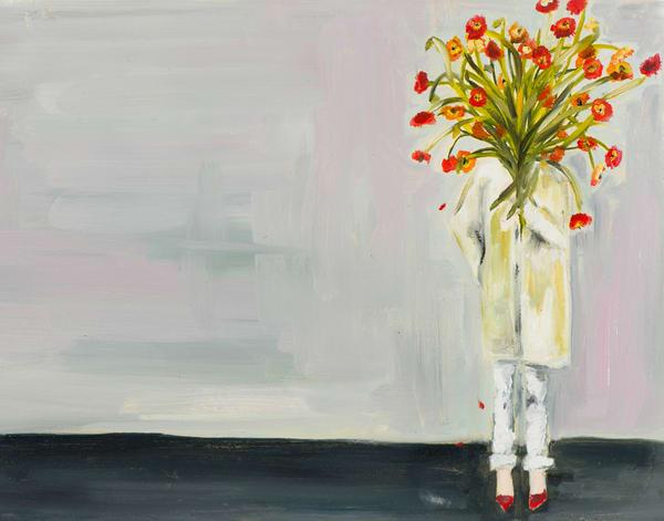 Poppy I Art | Meredith Steele Art
