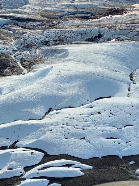 Glacier Ice Photography Art   Visionary Adventures, LLC