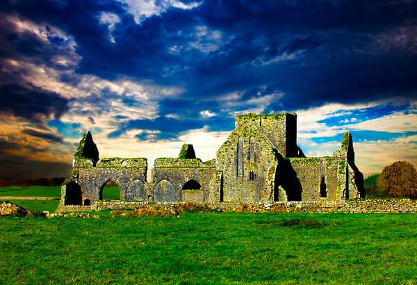 Hore Abbey, Cashel - Art of Ireland Print by Christopher Gatelock