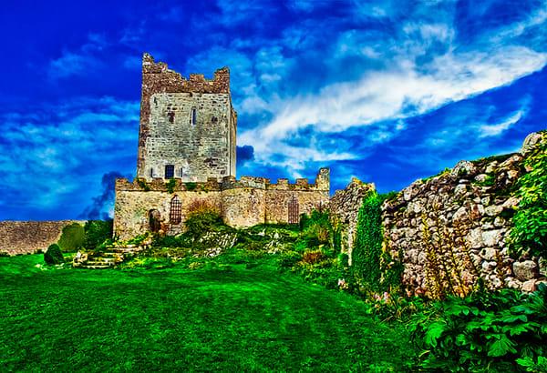 Clonony Castle - Art of Ireland Print by Christopher Gatelock