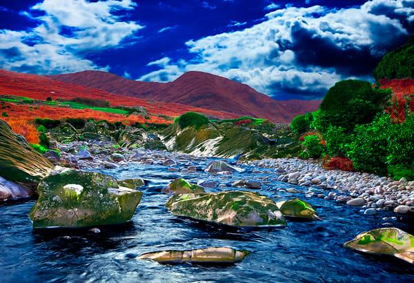 Connemara Wilderness 2 - Art of Ireland Print by Christopher Gatelock