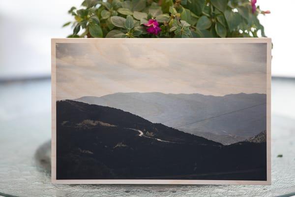 """Above The Ridge"" On Wood   Sydney Croasmun Photography"