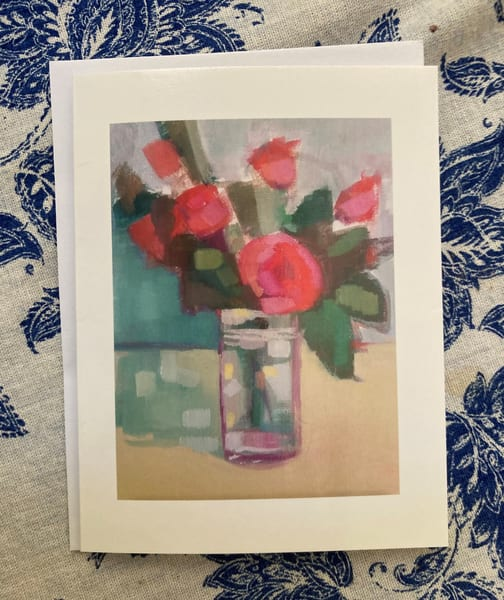 Petite Notecards of Roses