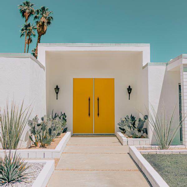 Yellow Door 1x1 Photography Art   Matej Silecky