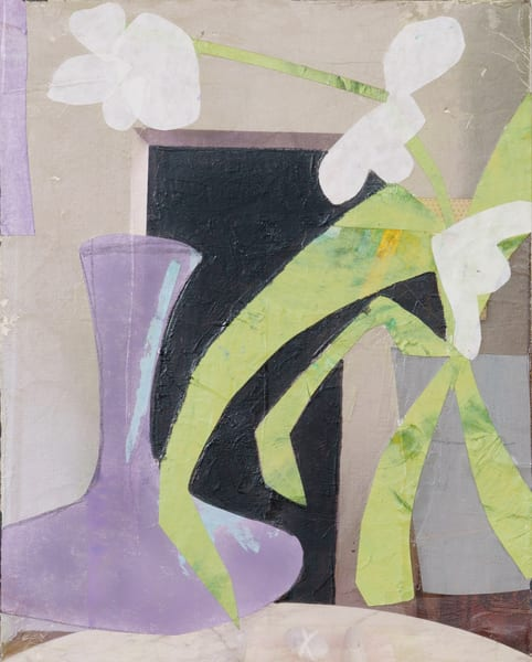 Decanter & Orchid Art | Julie Brown Art