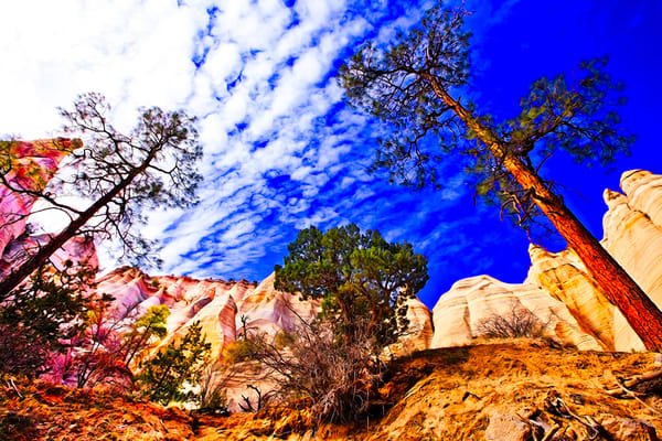 Tent Rock 2 - Art of New Mexico Print By Christopher Gatelock