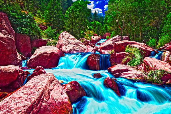 Eldorado Canyon - Art of Colorado Print By Christopher Gatelock