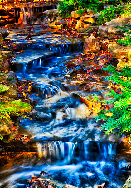 Surreal Stream - Art of Tennessee Print By Christopher Gatelock