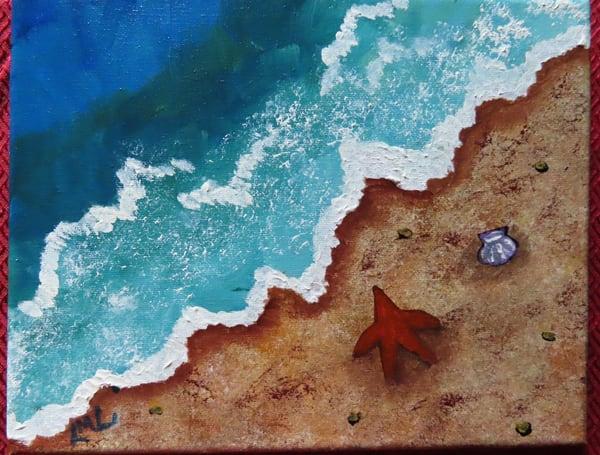 Starfish On The Seashore Art | LML Studio Art