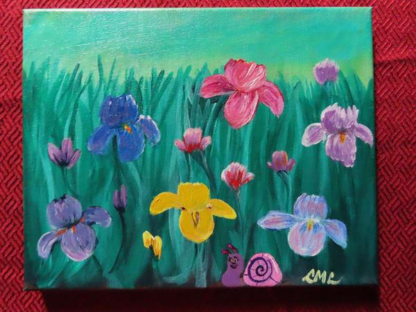 Iris The Snail Art | LML Studio Art