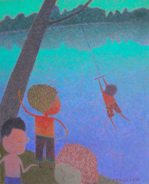 Rope Swing Art | Fountainhead Gallery