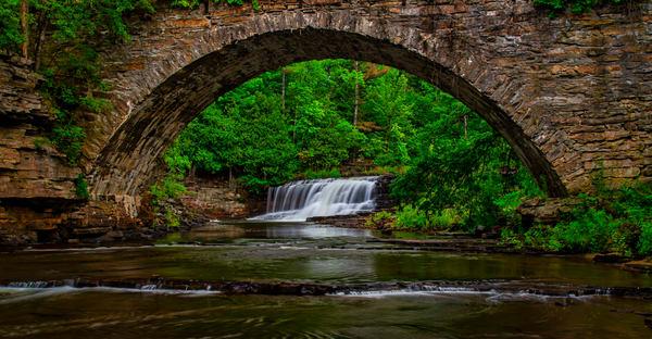 Woods Falls Arch - Adirondacks fine-art photography prints