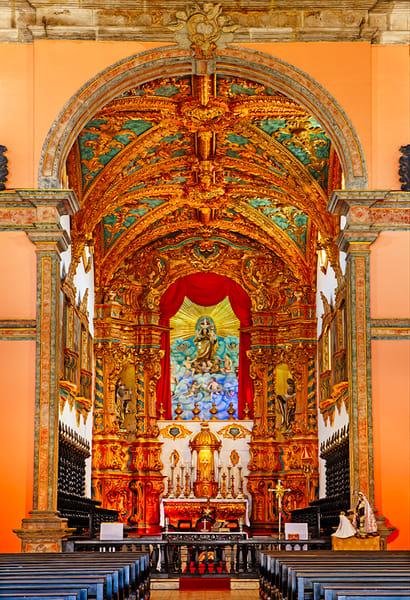 Carmo Basilica, Brazil - Art of Brazil Print by Christopher Gatelock