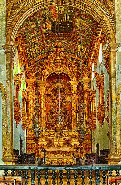 St. Benedict's Monastery - Art of Brazil Print by Christopher Gatelock