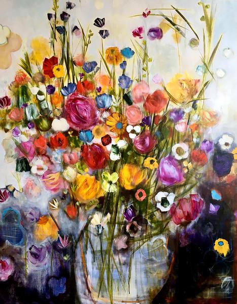 Comfort Flowers Art | i Ghibu - Art
