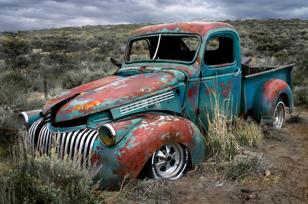Abandoned Truck  Art | Sharon Beth