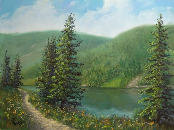 Serenity Path Art | Mark Grasso Fine Art