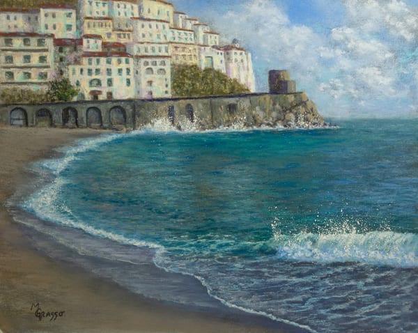Amalfi Coast Art | Mark Grasso Fine Art