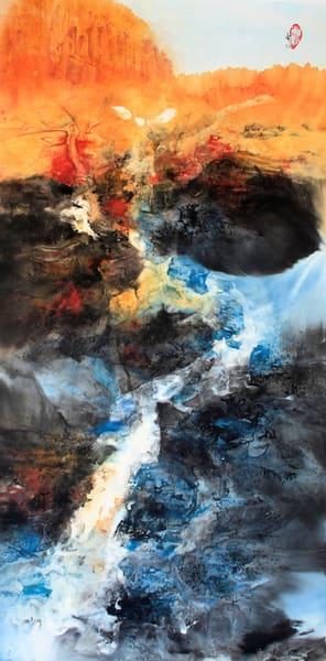 Phantom Canyon 2   Sold (Framed) Art   Karen Kurka Jensen