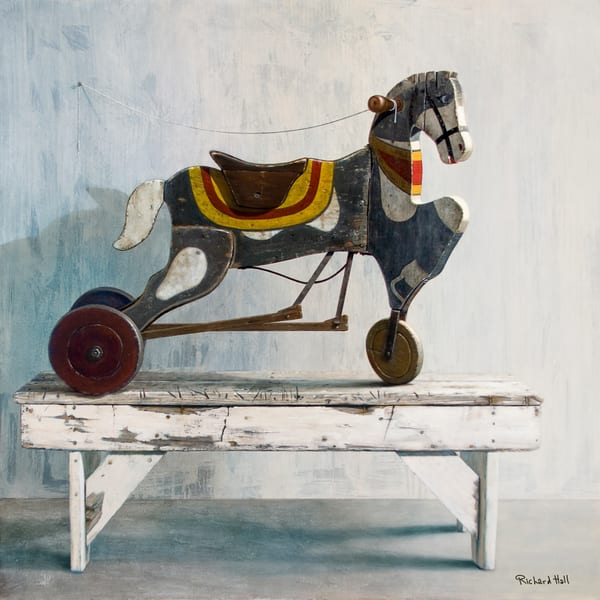 Horsecycle Art | Richard Hall Fine Art
