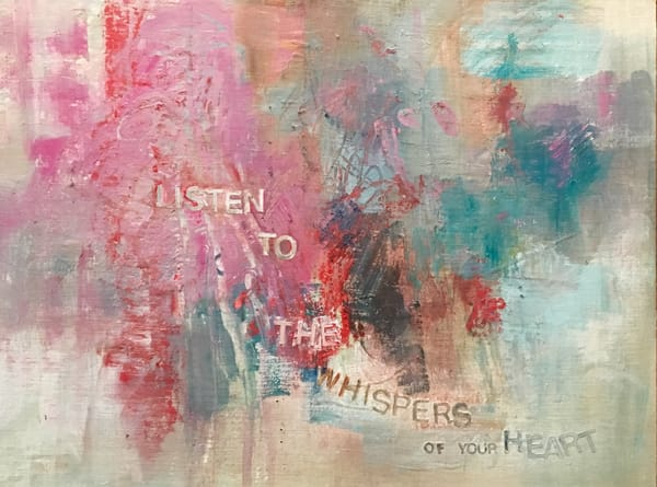 Give Me Your Words : : Listen To The Whispers Art | Stephanie Visser Fine Art