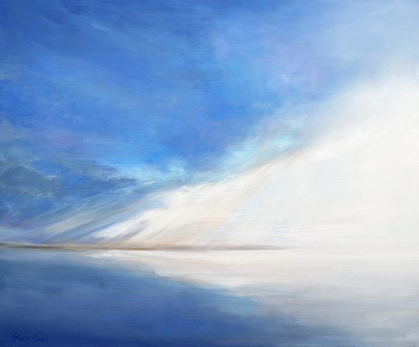 Light on the Bay, a painting by Sheila Finch