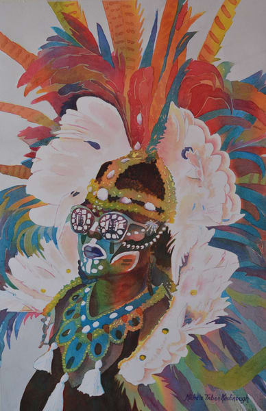 She Mommaguy   Crucian Carnival Series Art | Michele Tabor Kimbrough