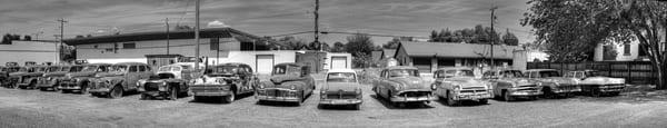 Vintage Car Panorama Art | Shaun McGrath Photography