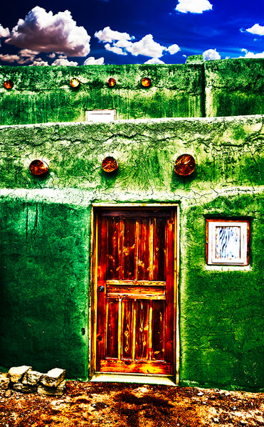Spanish Door - Conceptual Art Print by Christopher Gatelock