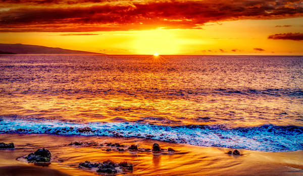 Maui Sunset   Ekahi Art | Soaring Whales Photography LLC