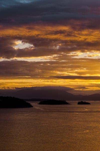 Morning Light Over Fidalgo Bay, Anacortes, Washington, 2016