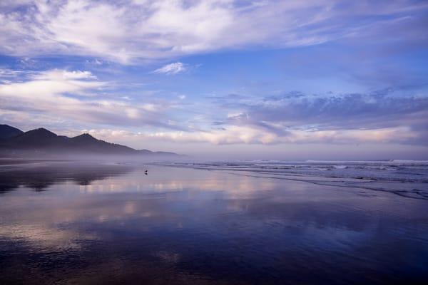 Reflections on the Beach, Cannon Beach, Oregon, 2019