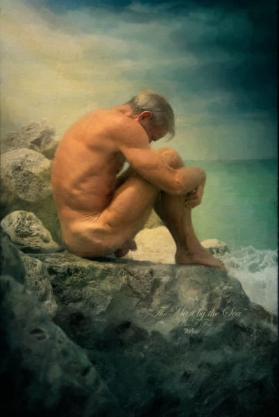 The Man by the Sea, Open Edition, Ben Fink, Art Prints,