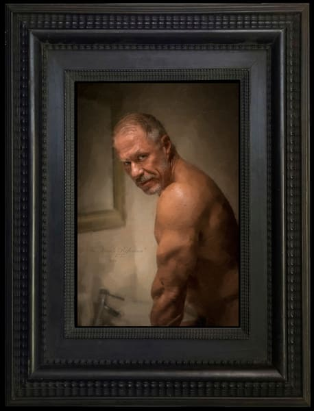 The Man's Reflection, Limited Edition, Ben Fink, Art Prints,