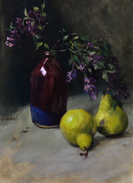 Lilacs and Pears