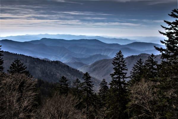 Smoky Mt Blue Photography Art   Nelson Rudiak Photography
