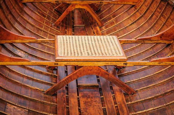 Cane Seat - 19 c. Durrin Rowboat