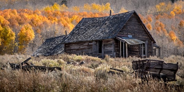 The Old Miner's Cabin Art | Kirk Fry Photography, LLC