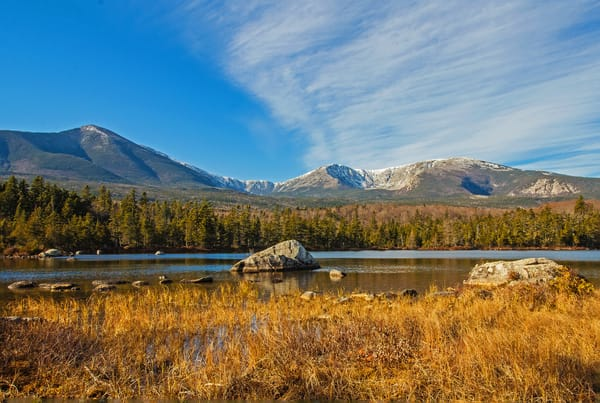 Mount Katahdin From Sandy Stream  Photography Art   Nelson Rudiak Photography