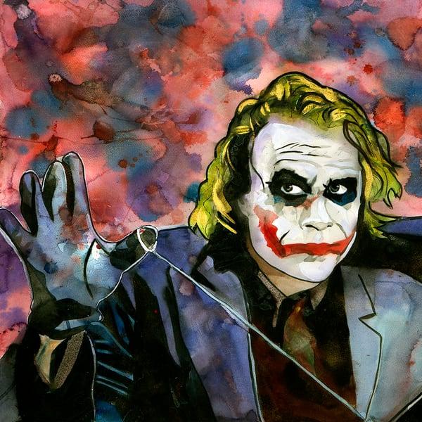 Joker Coaster Art | William K. Stidham - heART Art