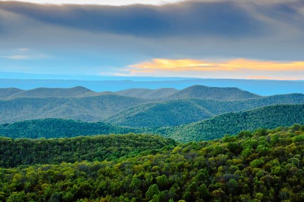 Point Overlook Shenandoah  Photography Art | Nelson Rudiak Photography