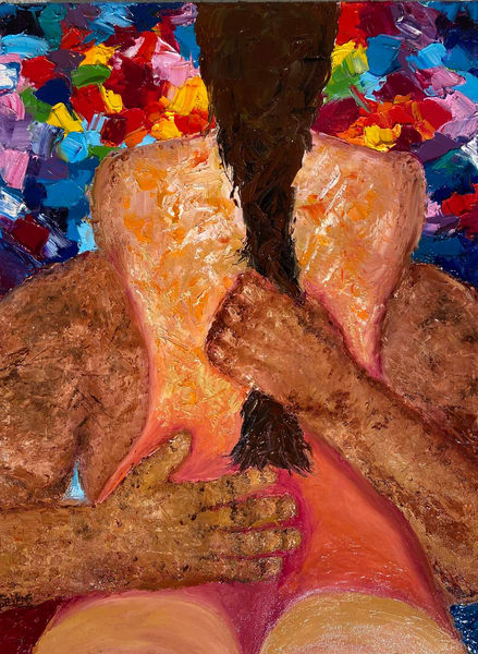 Titillating/Custom Available Art | Coat Of Many Colors