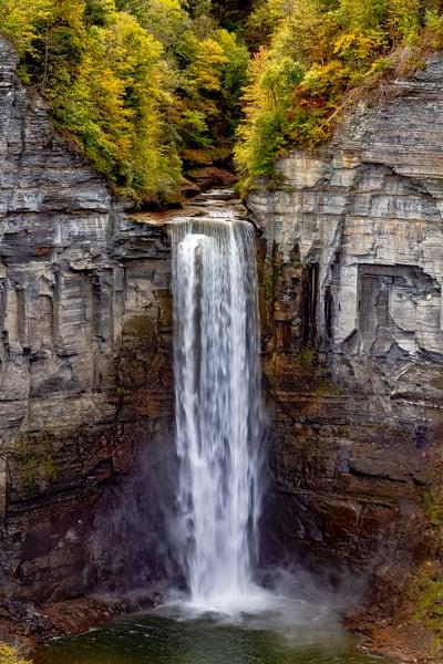 Taughannock Falls  Photography Art   Nelson Rudiak Photography