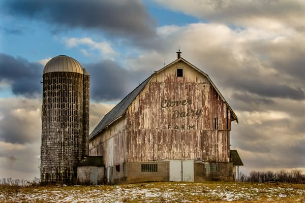 Clover Barn  Photography Art   Nelson Rudiak Photography